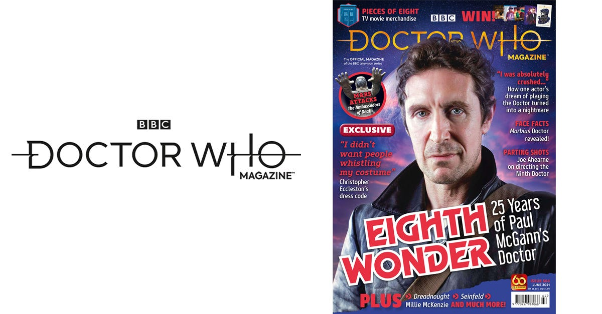 Doctor Who Magazine 564