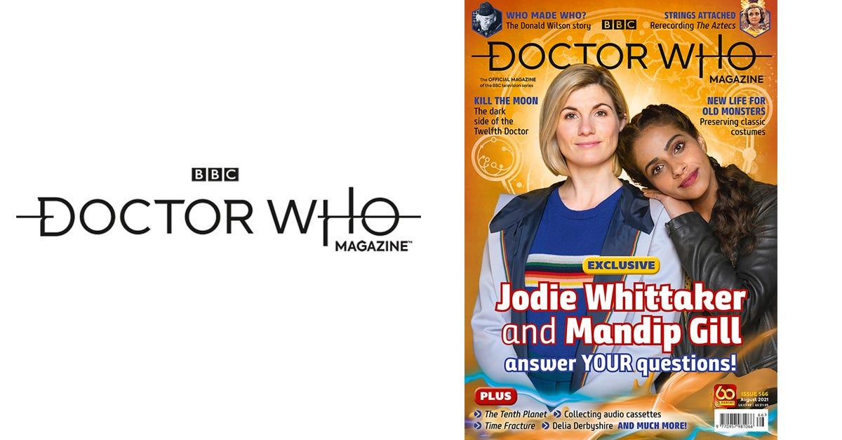 Doctor Who Magazine #566