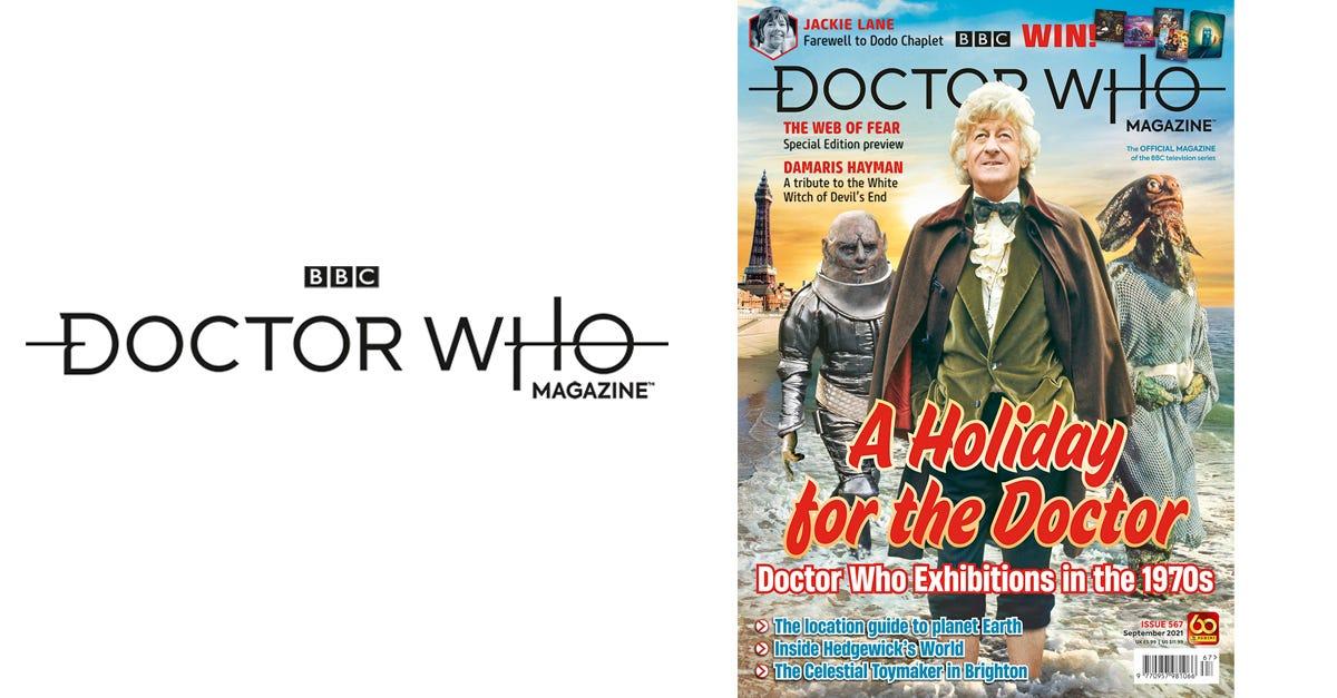 Doctor Who Magazine #567
