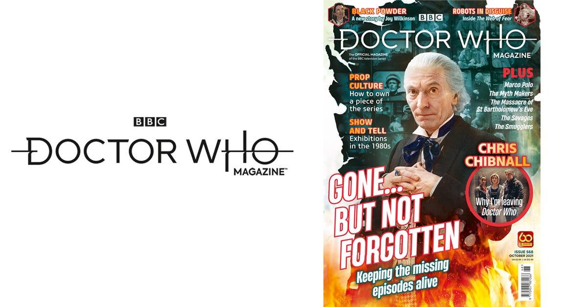 Doctor Who Magazine #568