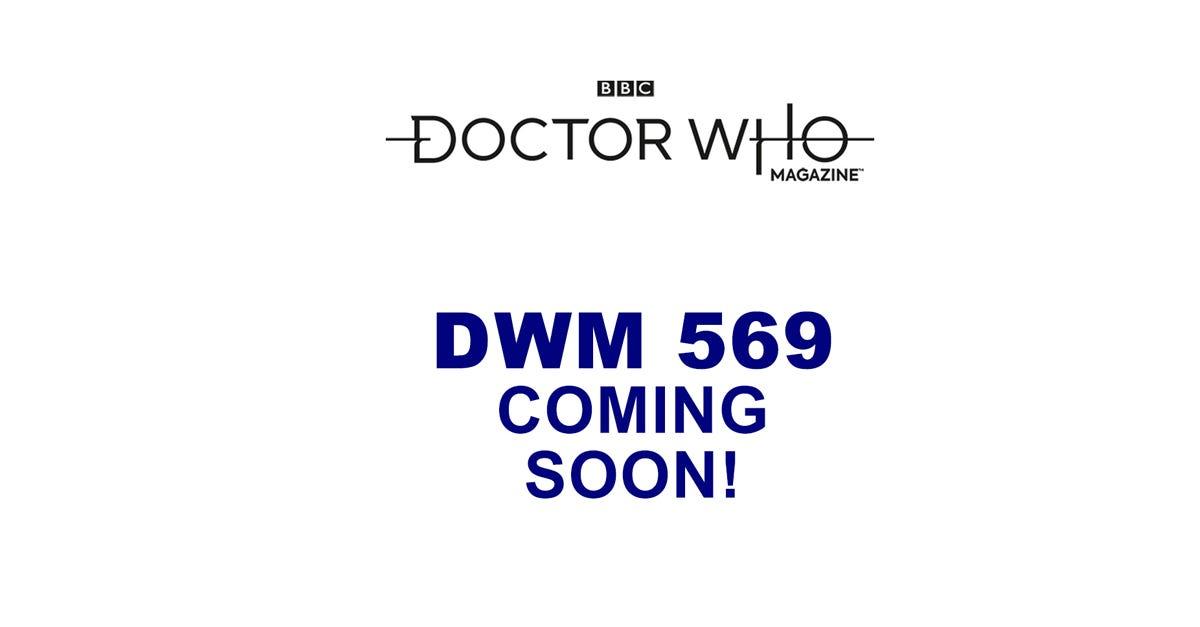 Doctor Who Magazine #569