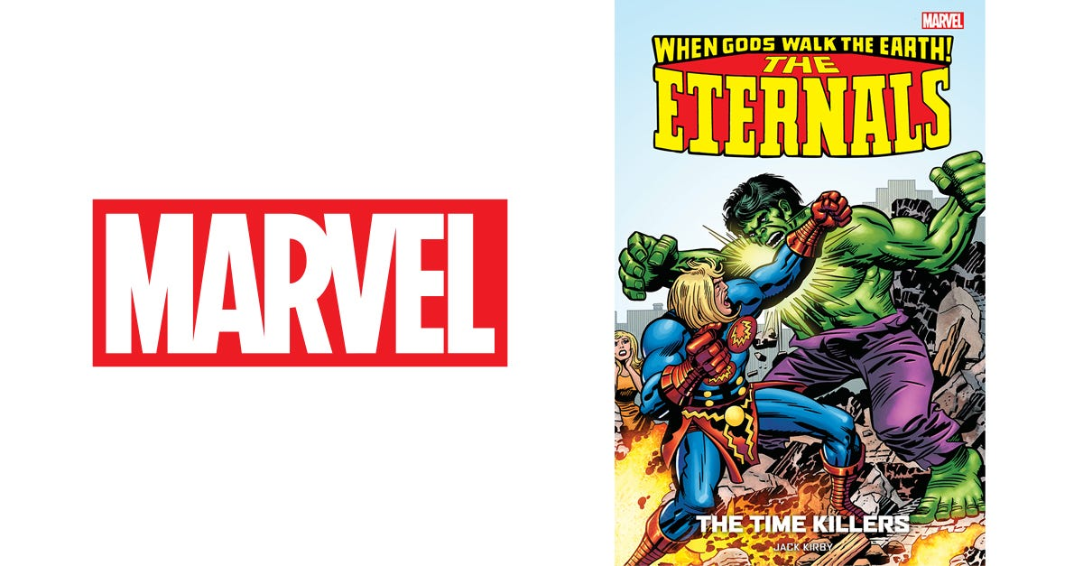 The Eternals by Jack Kirby Vol.2: The Time Killers
