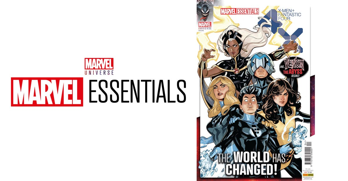 Marvel Essentials Vol. 1 #4