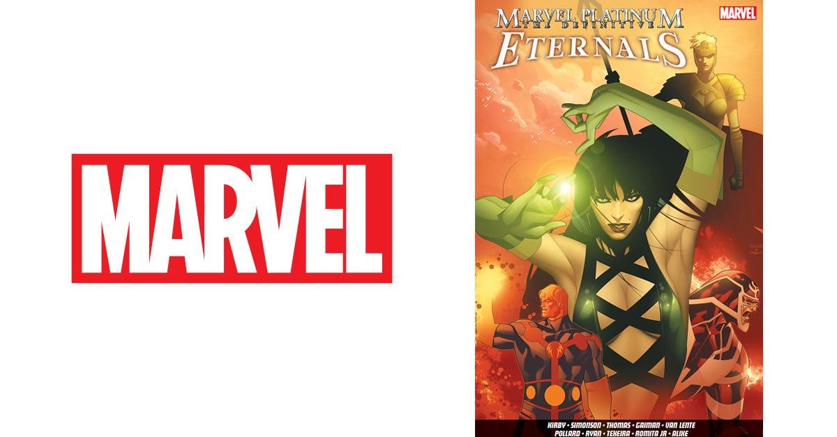 Marvel Platinum: The Definitive Eternals