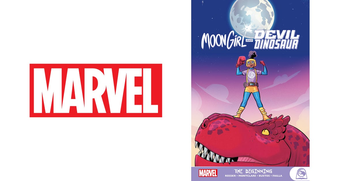 Moongirl and Devil Dinosaur: The Beginning