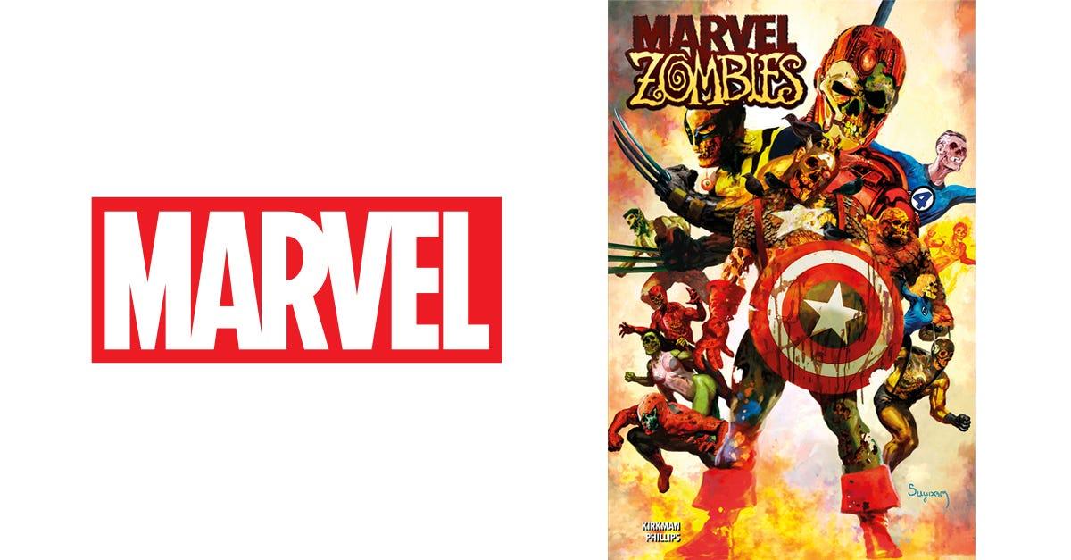 Marvel Zombies Kirkman Phillips Omnibus