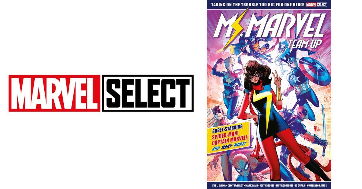 Marvel Select - Ms. Marvel Team-Up