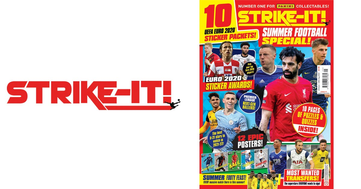 Strike It! Magazine #125 Summer Football Special