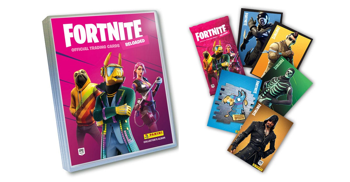 FORTNITE Official Trading Card Collection RELOADED