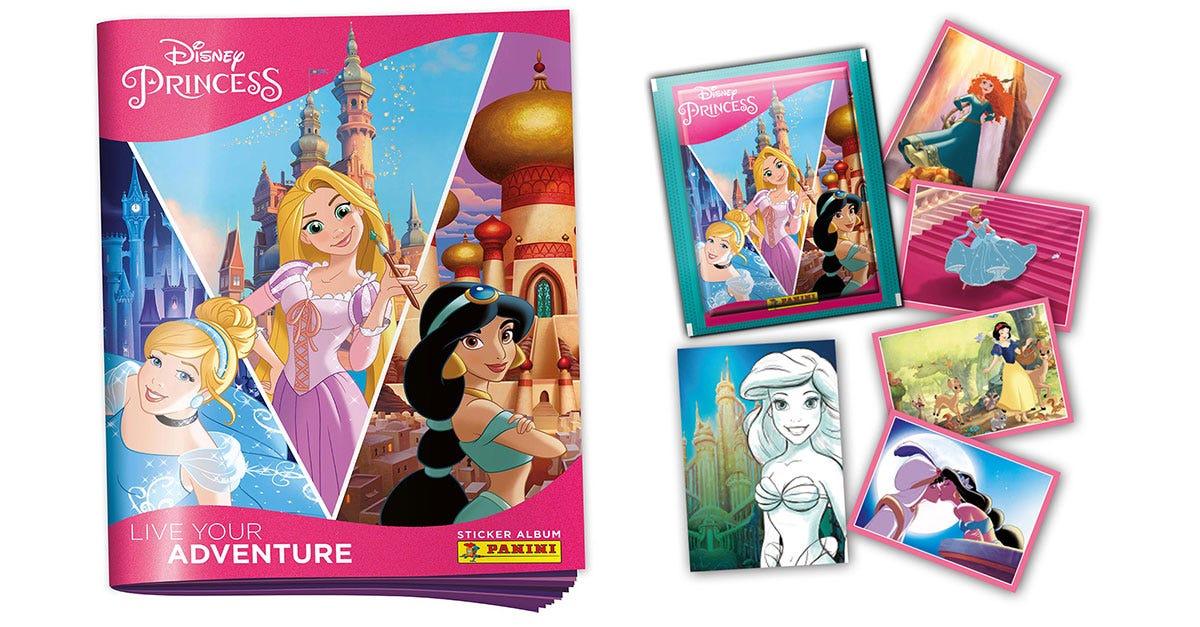 Disney Princess Live your adventure Sticker Collection