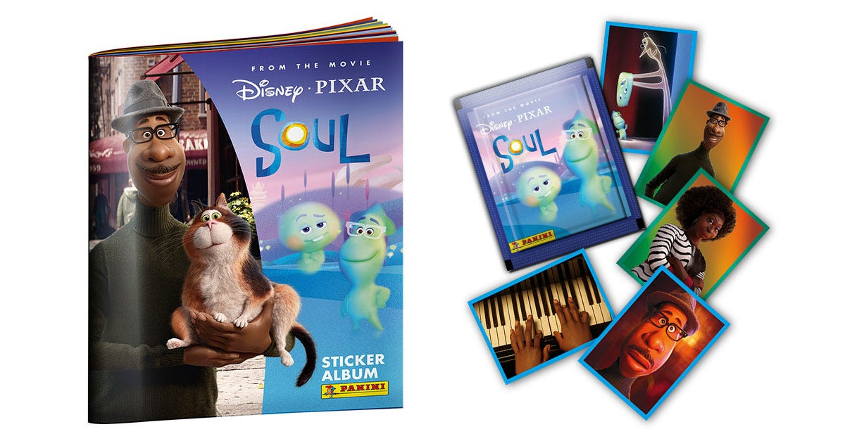Disney Pixar Soul Sticker Collection