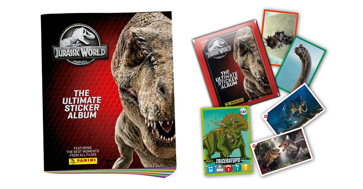 Jurassic World – The Ultimate Sticker Collection