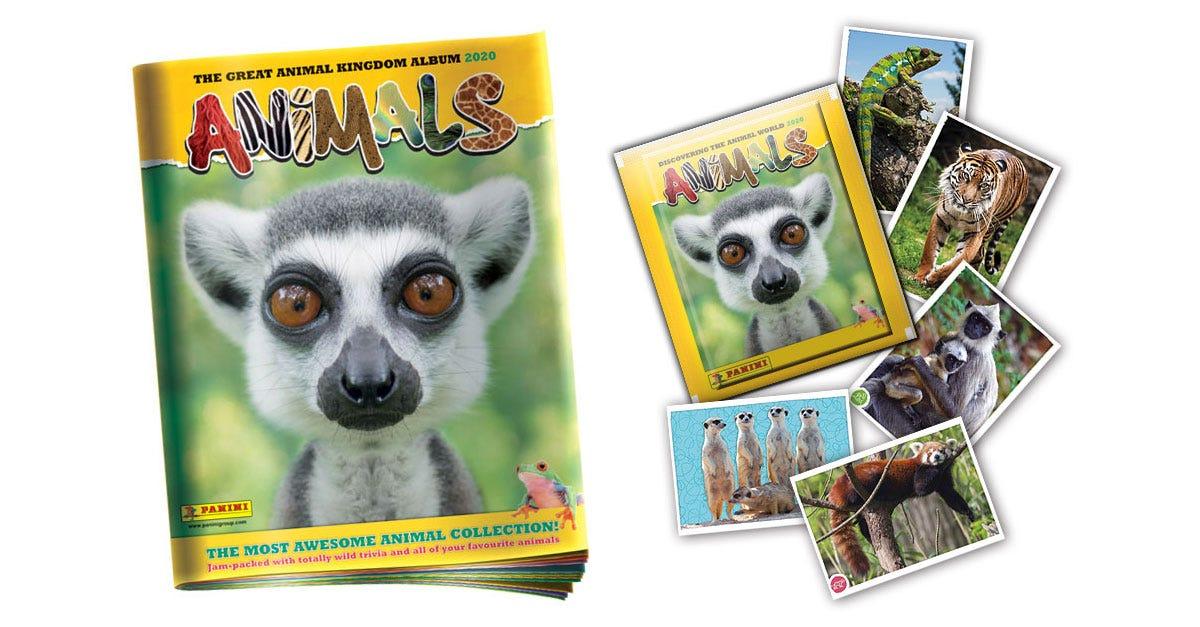 Animals 2020 sticker collection