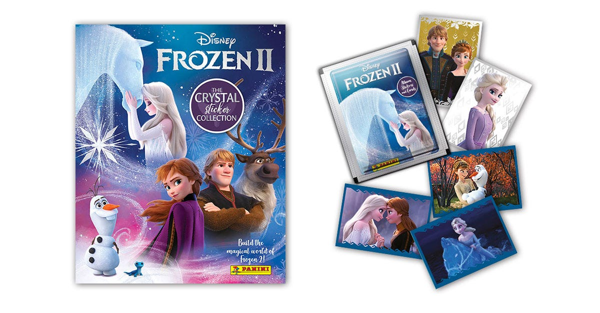 Disney Frozen II Crystal Sticker Collection