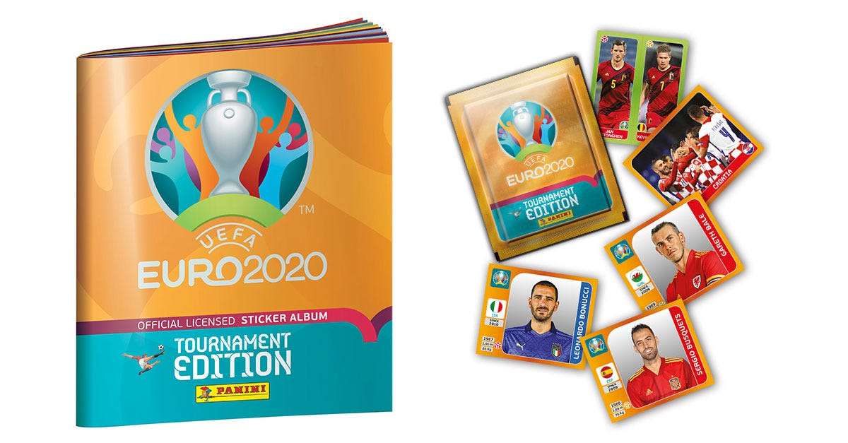 The UEFA EURO 2020™ Official Sticker Collection