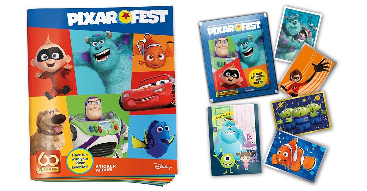 Pixar Fest Sticker Collection