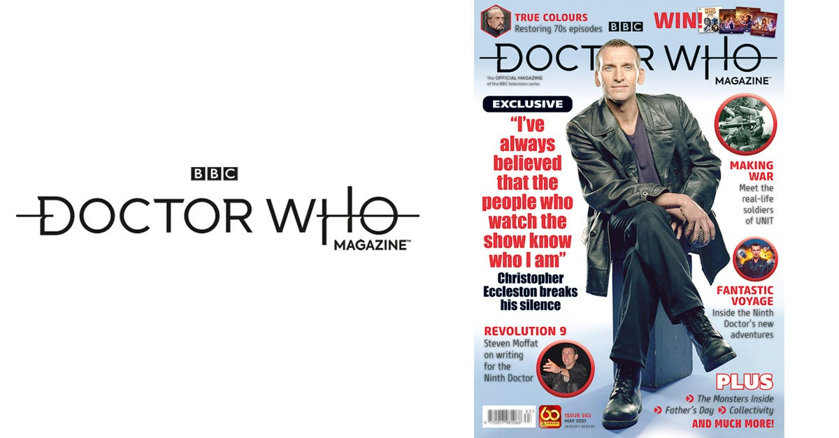 Doctor Who Magazine 563