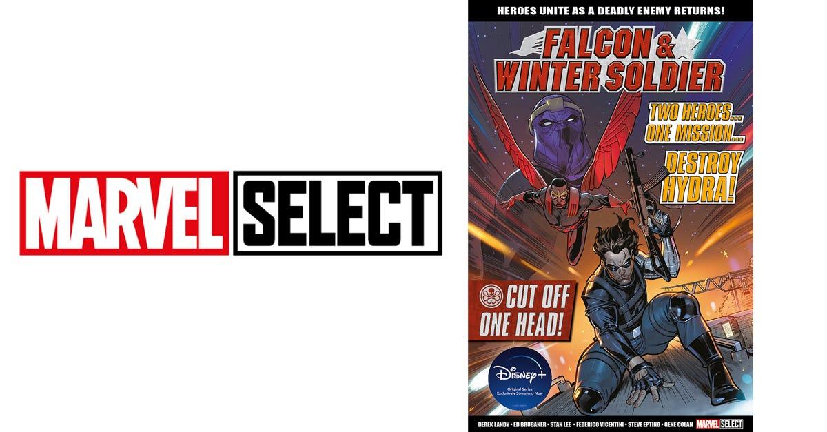 Falcon & Winter Soldier: Cut Off One Head (bookazine)
