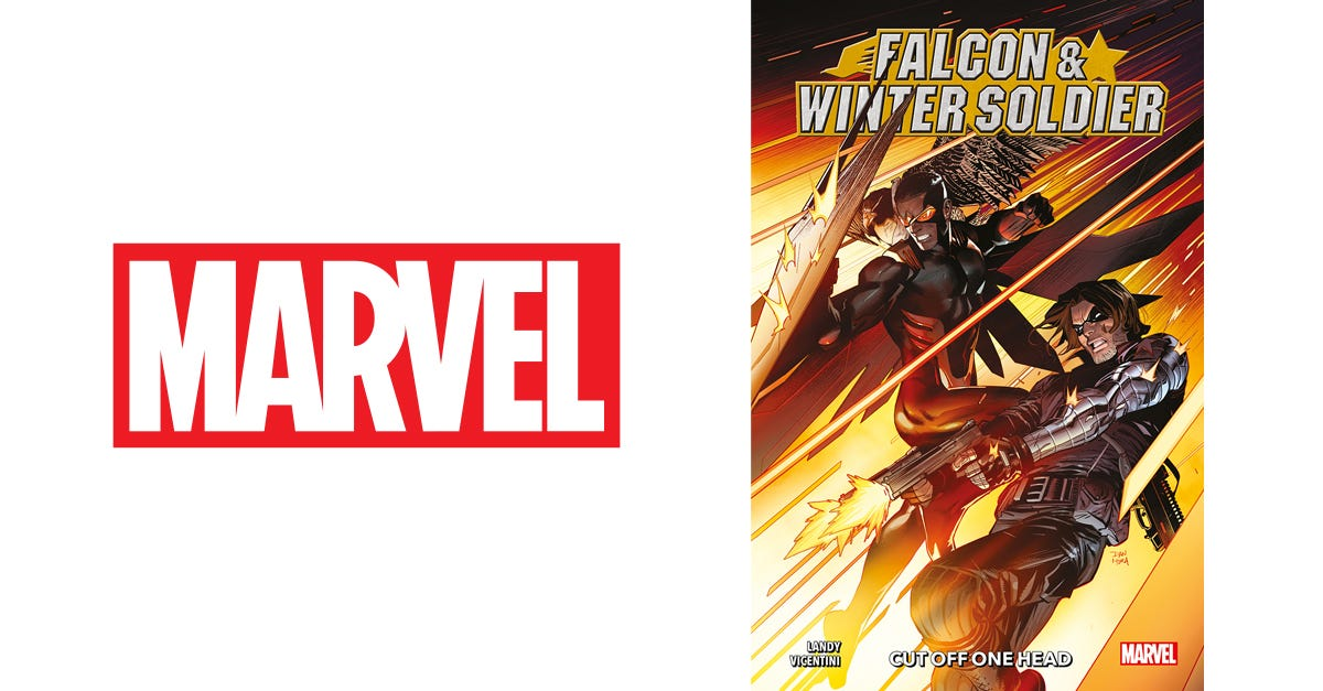 Falcon and Winter Soldier: Cut Off One Head (graphic novel)