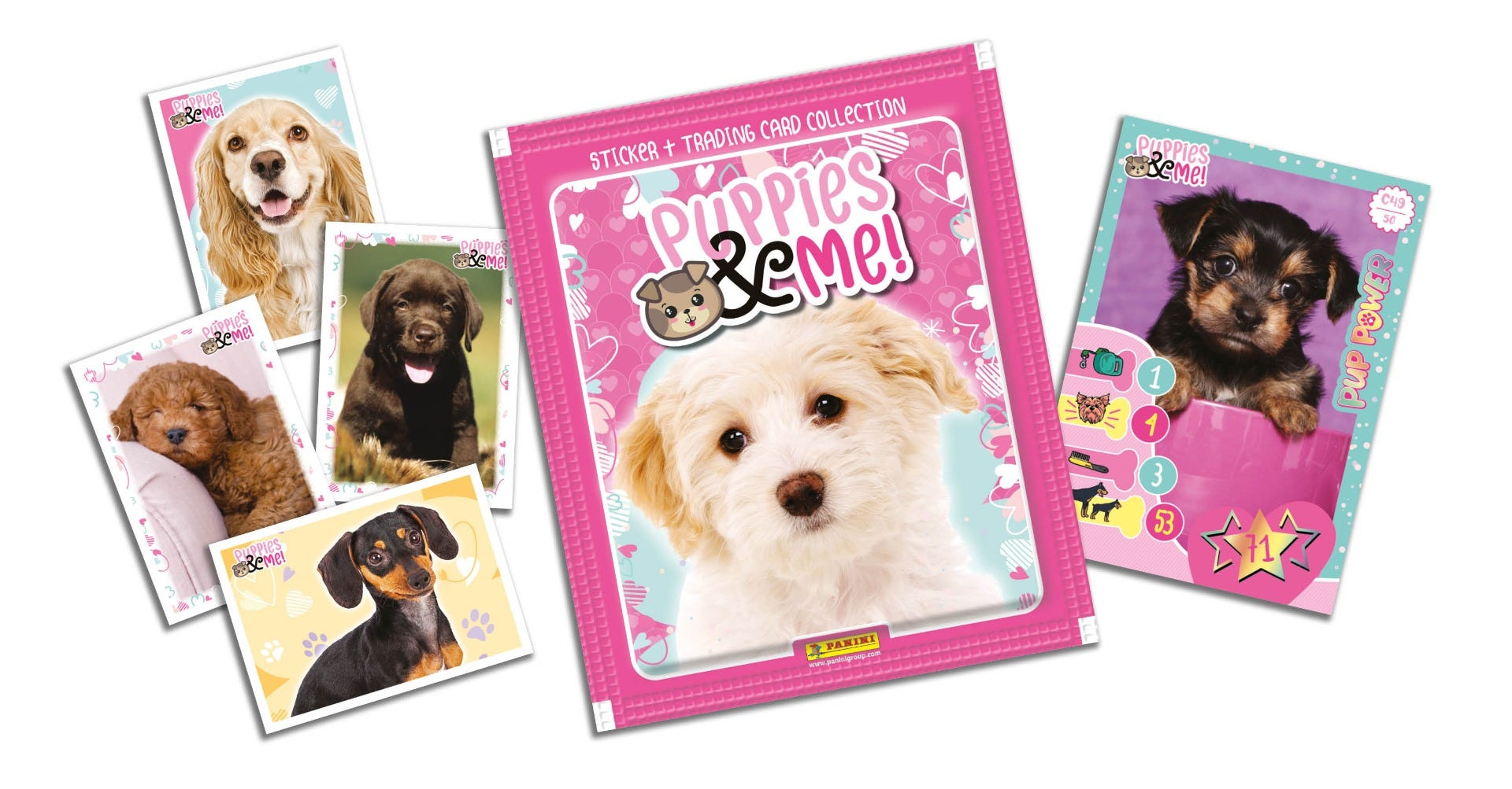 Puppies & Me Sticker Collection Panini