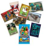 MINECRAFT Adventure Trading Card - Missing cards