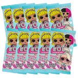 L.O.L. Surprise! 3 Trading Cards - Bundle 10 bustine_UK