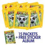 Animals 2020 Sticker Coll - Bundle 15 bustine + Album_UK