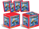 Minecraft Sticker Collection - Box of 50 packets