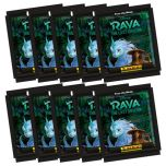 Disney Raya & The Last Dragon Sticker Collection - Bundle of 10 packets