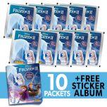 Frozen II 2020 Crystal Hybrid Coll- Bundle 10 bb+Album_UK