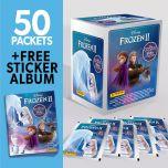 Frozen II 2020 Crystal Hybrid Stk Coll- Bundle 50 b+Album_UK