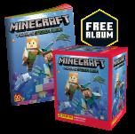 Minecraft Sticker Collection - Box of 50 packets + FREE Sticker Album