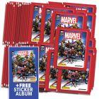 Marvel 80th Sticker Collection - Bundle di 50 bust+Album_UK