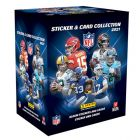 NFL Sticker & Trading Card Collection 2021 - Bundle of 50 Packets
