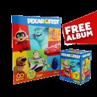 Pixar Fest Sticker Collection - Box of 50 packets + FREE Sticker Album
