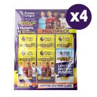Premier League Adrenalyn 2020/21 Trading Card Collection - Bundle of 4 Multipacks