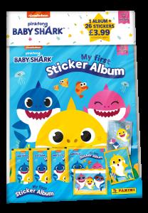 Baby Shark Sticker Collection - Starter Pack