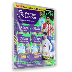 Premier League Adrenalyn XL 21/22 Trading card Collection - Kick off Multipack