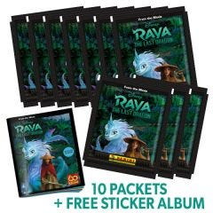 Disney Raya & The Last Dragon Stk Coll - Bundle 10bb+Albu_Uk