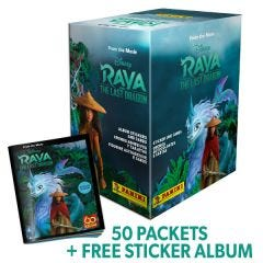 Disney Raya & The Last Dragon Stk Coll - Bundle 50b+Album_Uk