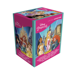 Disney Princess 'Live your adventure' Sticker Collection - Box of 36 Packets