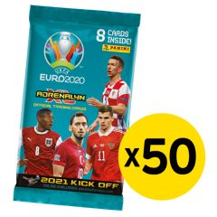 UEFA Euro 2020™ Adrenalyn XL™ 2021 Kick Off official trading cards collection - Bundle of 50 packets
