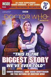 Doctor Who Magazine Issue 570