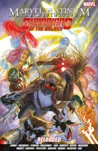MARVEL PLATINUM: THE DEFINITIVE GUARDIANS OF THE GALAXY RELO