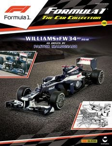 F1 COLLECTION PARTWORKS ISSUE 118