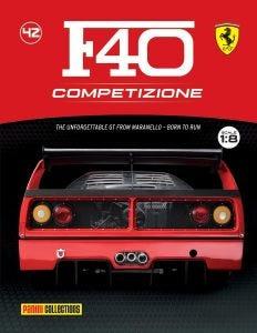 F40 COMPETIZIONE PARTWORKS ISSUE 42
