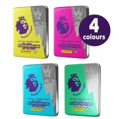Premier League Adrenalyn 2020/21 Trading Card Collection - Bundle of 4 Pocket Tins