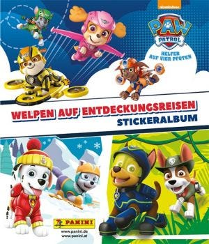 Paw Patrol Pup Explorers Sticker Collection