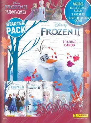 Frozen 2 Trading Card Collection - Starter Pack