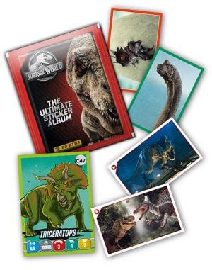 JURASSIC WORLD – The Ultimate Sticker Collection - Missing cards